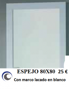 Espejo 80x80
